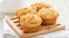 Receta de muffins de zanahorias