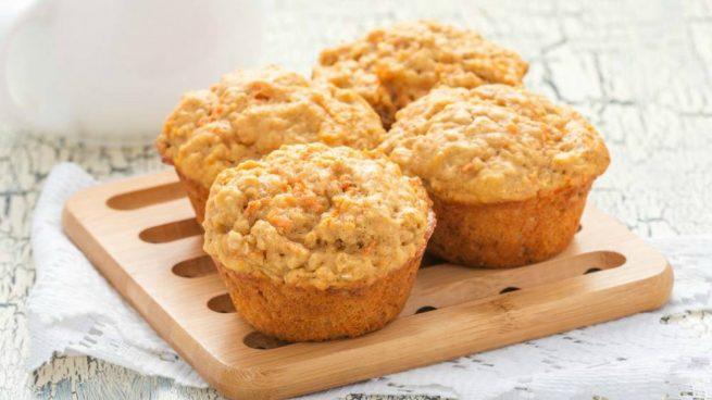 muffins de zanahorias