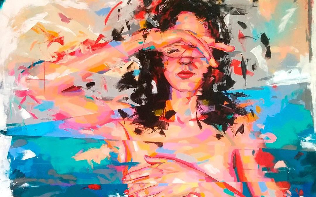 Obra de Remy Uno (Foto. Claudia Arbulu Gallery)