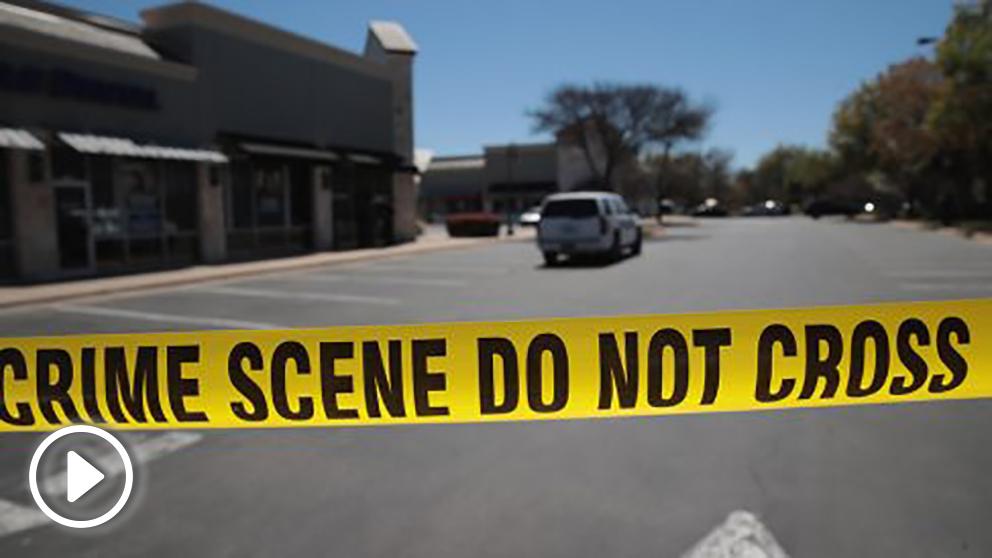 Investigación policial en Austin (Foto: AFP)
