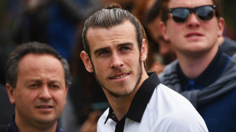 Bale está obsesionado con el golf. (Getty)