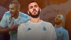 Karim Benzema, tras la salida de Zidane y la más que posible de Cristiano, se siente solo.