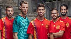 Primera equipación de España.