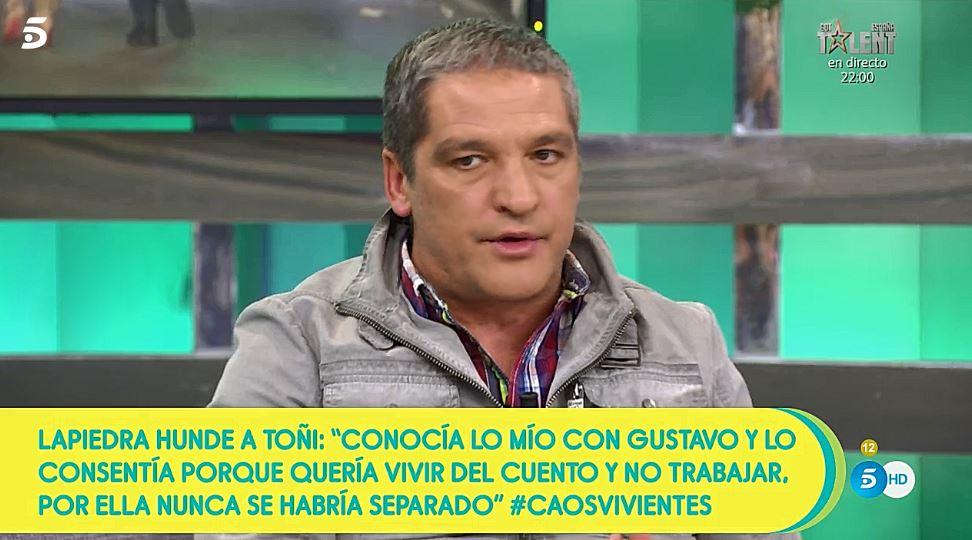 Gustavo González sobre María LaPiedra en 'Sálvame'