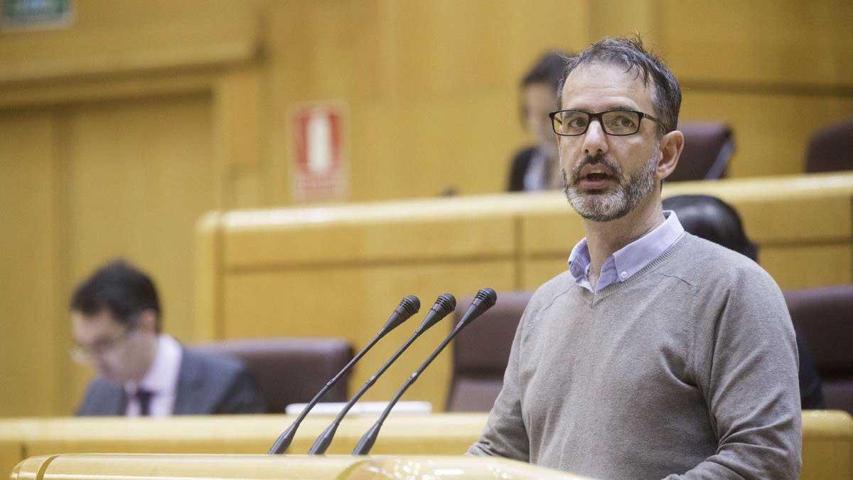 Ignacio Bernal, senador de Podemos.