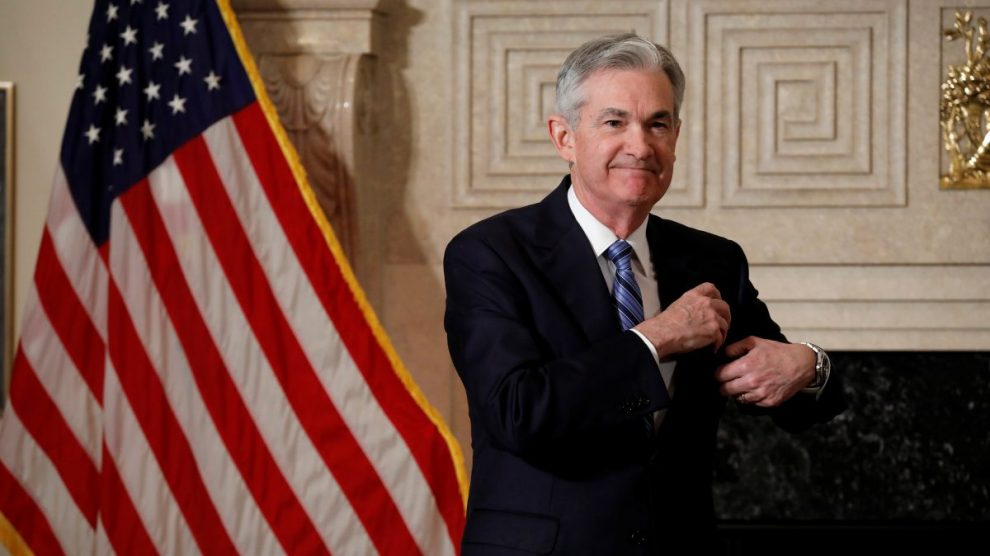 Presidente do Federal Reserve, Jerome Powell