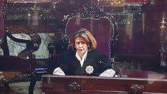 La fiscal María Ángeles Garrido en la vista del caso Nóos en el Tribunal Supremo.