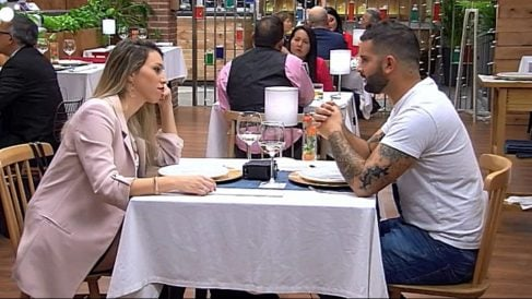 Maria y José María, una de las parejas de 'First Dates'