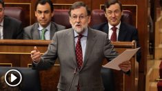 Mariano Rajoy, presidente del Gobierno, en el Congreso de los Diputados. (Foto: EFE)