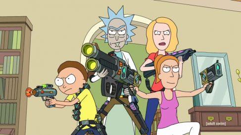 La tercera temporada de 'Rick y Morty' ya está disponible en Netflix.