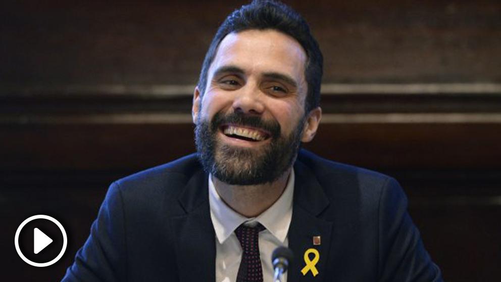 Roger Torrent, presidente del Parlament de Cataluña. (Foto: AFP)