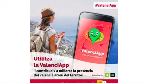 Valenciapp, la nueva aplicación en valenciano.