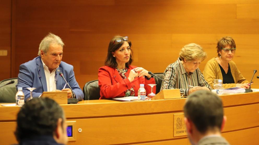 Alfonso Rus, ex presidente de la Diputación Valenciana, ante la Comisión de investigación en las Corts valencianas.