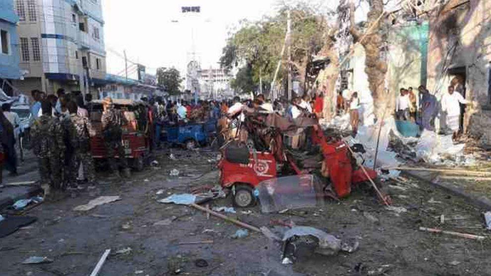 Atentado contra el hotel Wehliye de Mogadiscio, capital de Somalia.