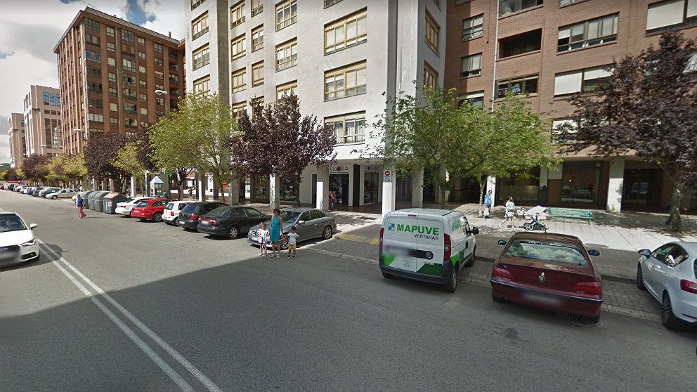 Barrio de G-3, en Burgos, donde se produjo el suceso.