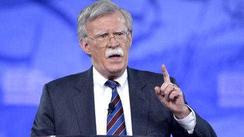 John Bolton en una reciente imagen (Foto: AFP).