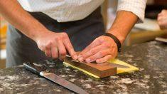 Todos los pasos para saber cómo afilar cuchillos