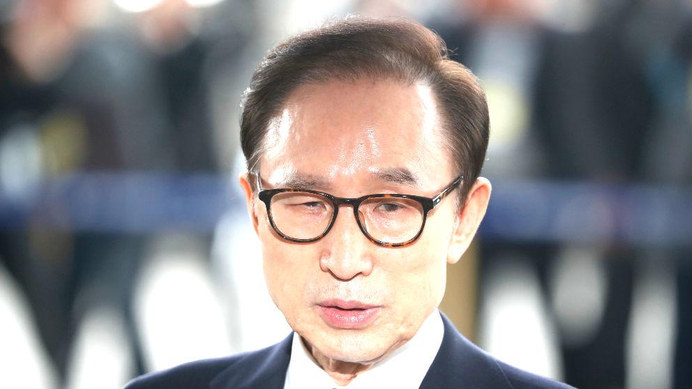 Lee Myung-bak en una reciente imagen (Foto: AFP).