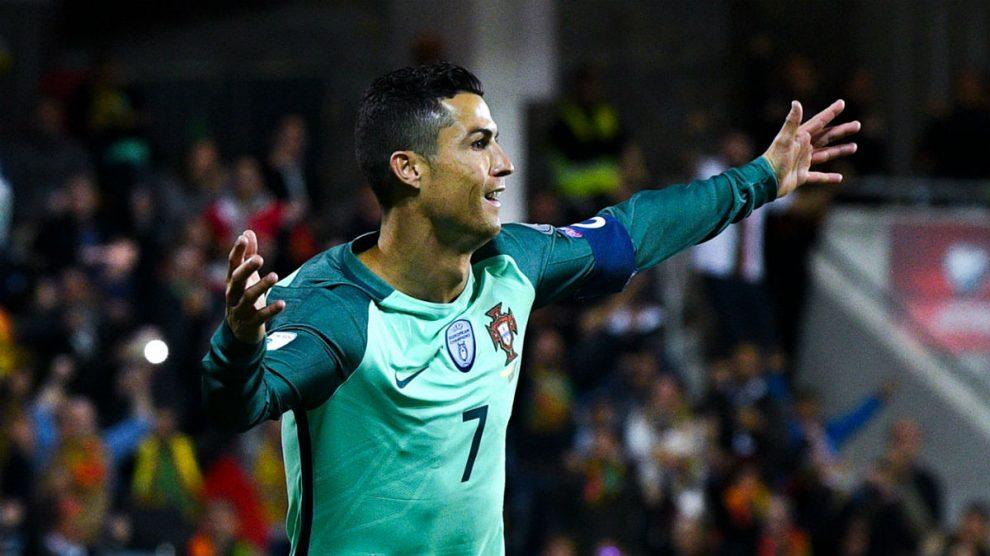 Cristiano Ronaldo es el máximo goleador de la historia de la selección de Portugal. (Getty)