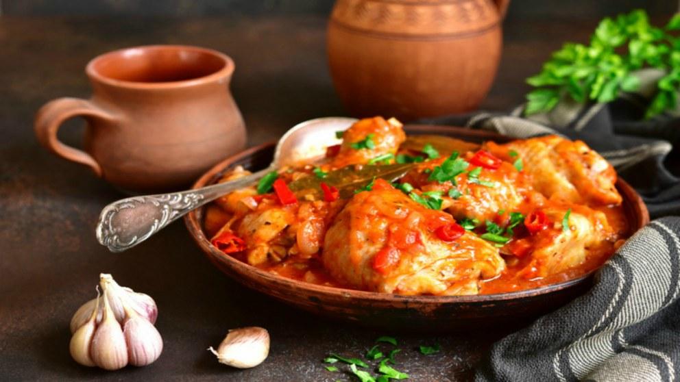 Receta de estofado de pavo tradicional y llena de sabor.