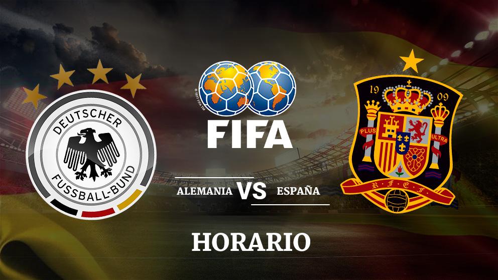 Consulta aquí la hora y dónde ver por televisión el partido amistoso entre Alemania – España   Mundial de Rusia 2018.