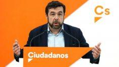 El dirigente de C's Miguel Gutiérrez.