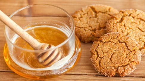Receta de galletas de miel.