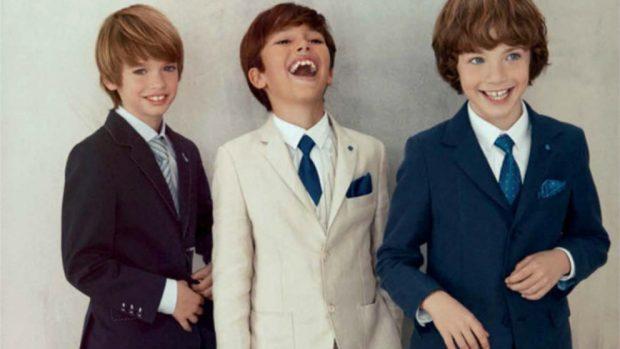 c8a60571c9576 trajes de Primera Comunión Tendencias para niños