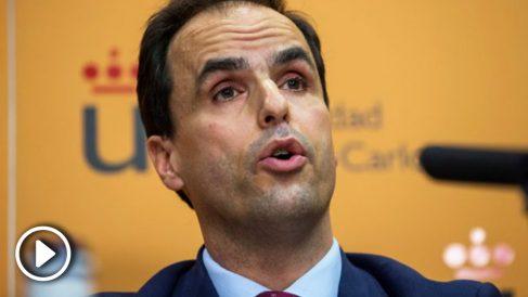 Javier Ramos, rector de la Universidad Rey Juan Carlos. (Foto: EFE)