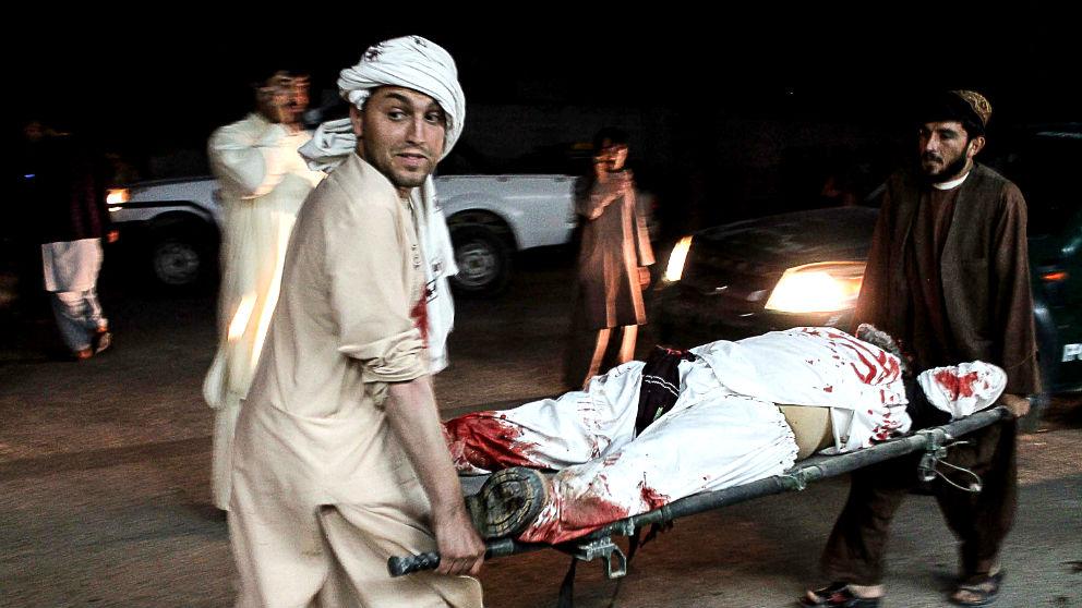 Atentado en Afganistán (Foto: AFP).
