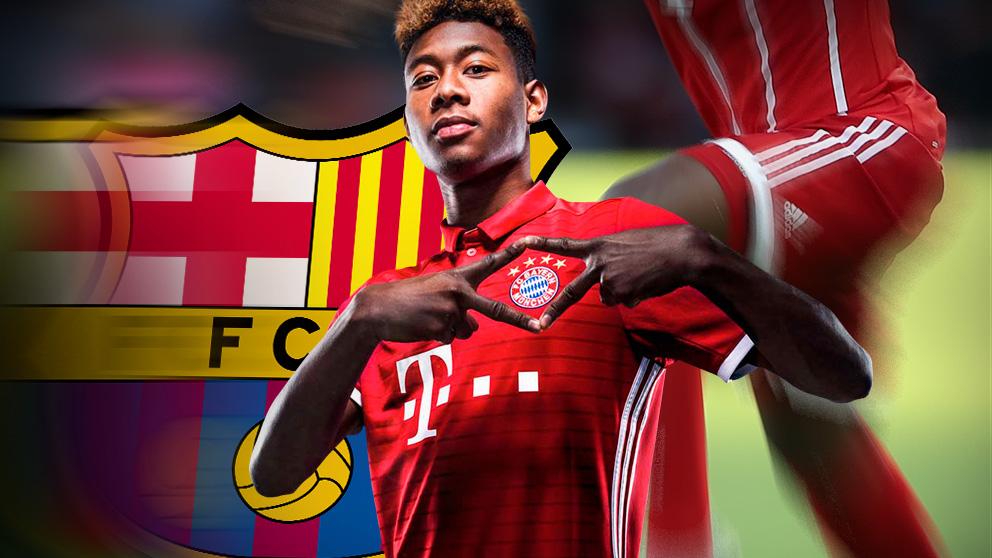 David Alaba es uno de los jugadores más cotizados del Bayern de Múnich.