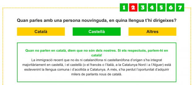 'Apartheid' lingüístico en Cataluña: campaña para que no se hable español con los inmigrantes