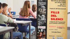Cartel del vídeo de la represión franquista que verán los estudiantes de Valencia
