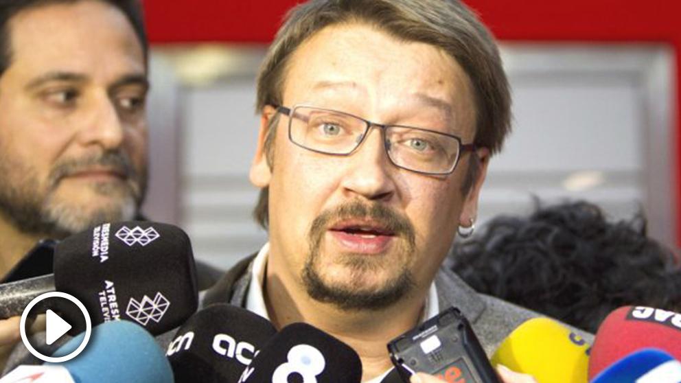 Xavier Domènech. (Foto: EFE)