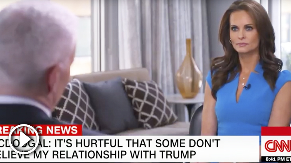 Entrevista a Karen McDougal en CNN.