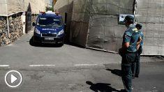La Guardia Civil investiga el triple asesinato de Tenerife. Foto: EFE