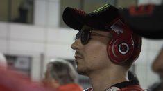 Jorge Lorenzo, a pesar de su pésimo comienzo de temporada, sigue teniendo entre ceja y ceja convertirse en el segundo campeón del mundo de Ducati de la historia de MotoGP. (Getty)