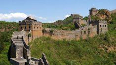 La Gran Muralla de China es uno de los lugares más visitados del mundo.