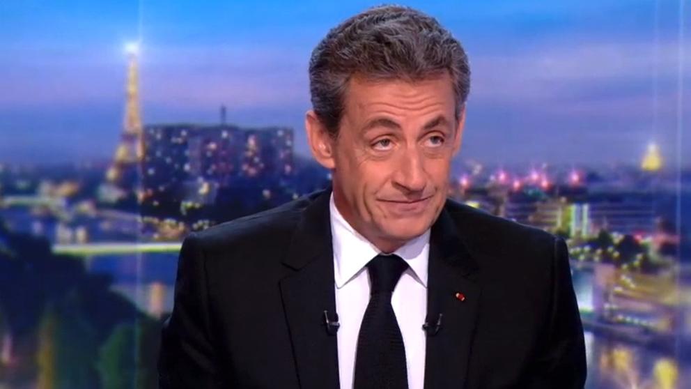 Nicolas Sarkozy, durante la entrevista concedida a la RTL.