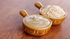 Receta de salsa tahini casero fácil de preparar paso a paso