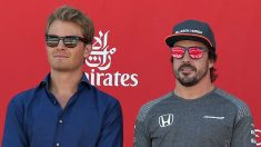 Nico Rosberg ha asegurado que Fernando Alonso no tiene posibilidades reales de ganar carreras este año, aunque vislumbra alguna opción de que logre subir al podio. (Getty)