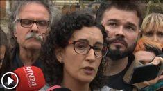 La fugada Marta Rovira se envalentonaba en público siempre que podía