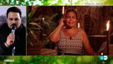 Saray a punto de abandonar Supervivientes 2018