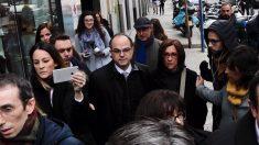 Turull y Rull entrando al Tribunal Supremo. Foto: Francisco Toledo