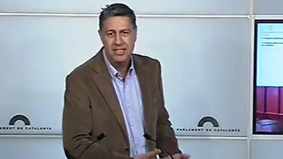 El presidente del PP catalán Xavier García Albiol.