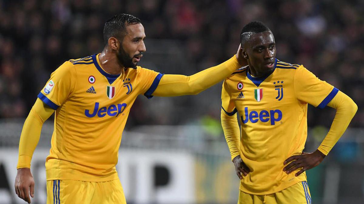 Benatia y Matuidi, durante un partido de la Juventus.