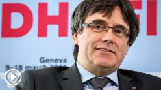 Carles Puigdemont, expresidente de la Generalitat de Cataluña. (Foto: AFP)