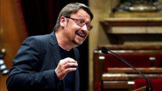 Xavier Domènech en el Parlament de Cataluña.