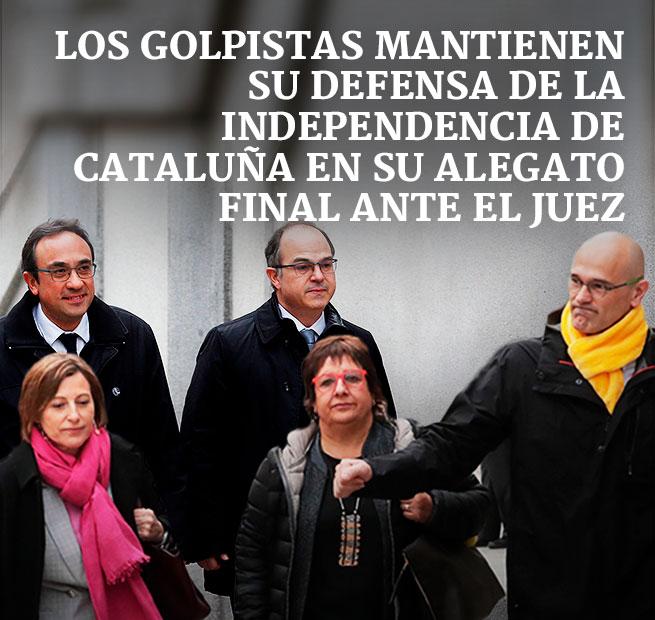 CRISIS EN CATALUÑA 5.0 Golpistas-mantienen-su-defensa-publi