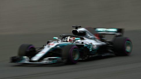 Lewis Hamilton sumó una pole más a su casillero en Australia. (Getty)